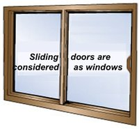 ShutterRight Sliding window-door