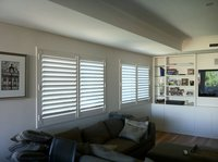 Living Room Shutters - Fixed Panels